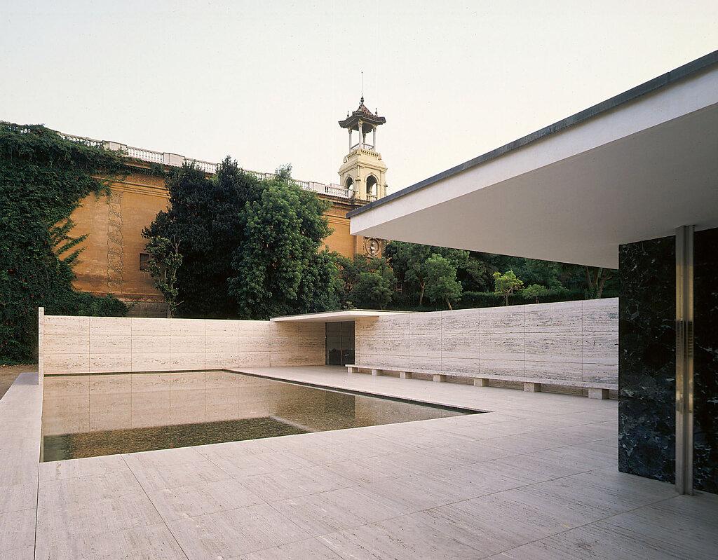Pavillon Mies Van Der Rohe Barcelona Michael Rasche