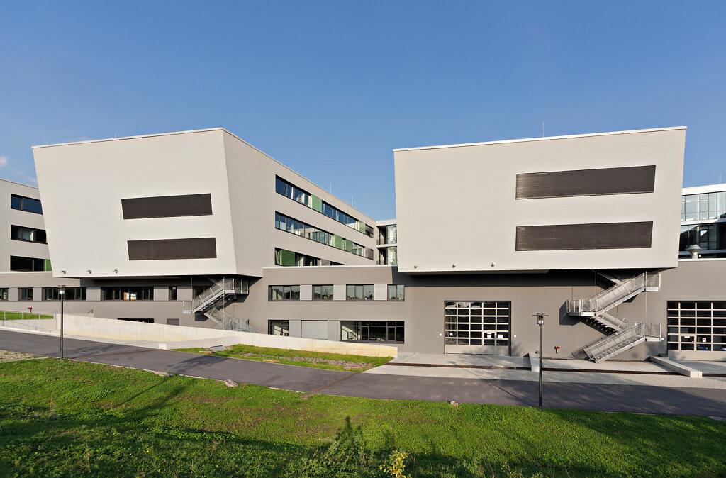 FH Gelsenkirchen, Brechensbauer Weinhart + Partner Architekten