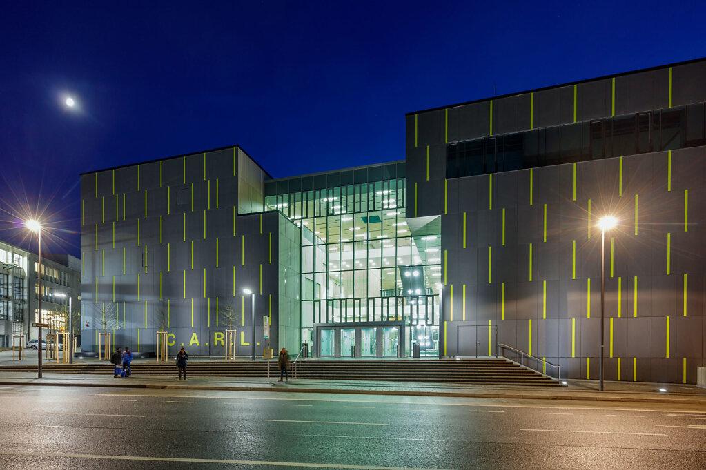 Hörsaalzentrum der RWTH Aachen, SHL architects