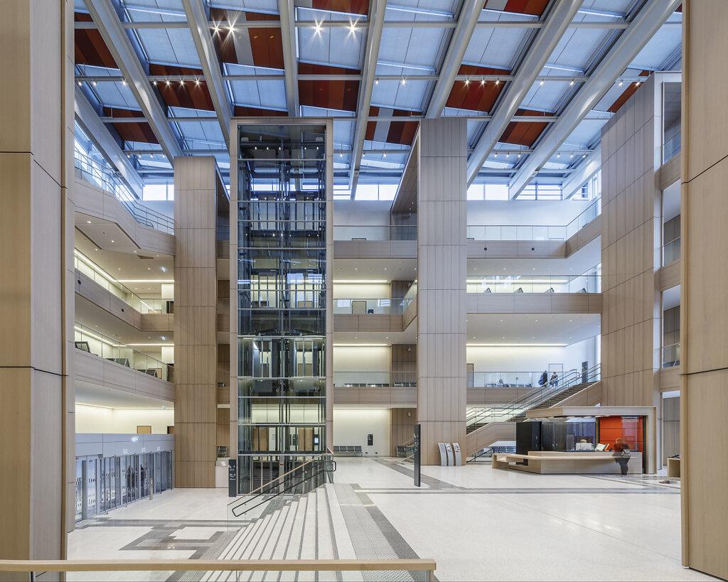 Justizzentrum Bochum, HASCHER JEHLE Architektur