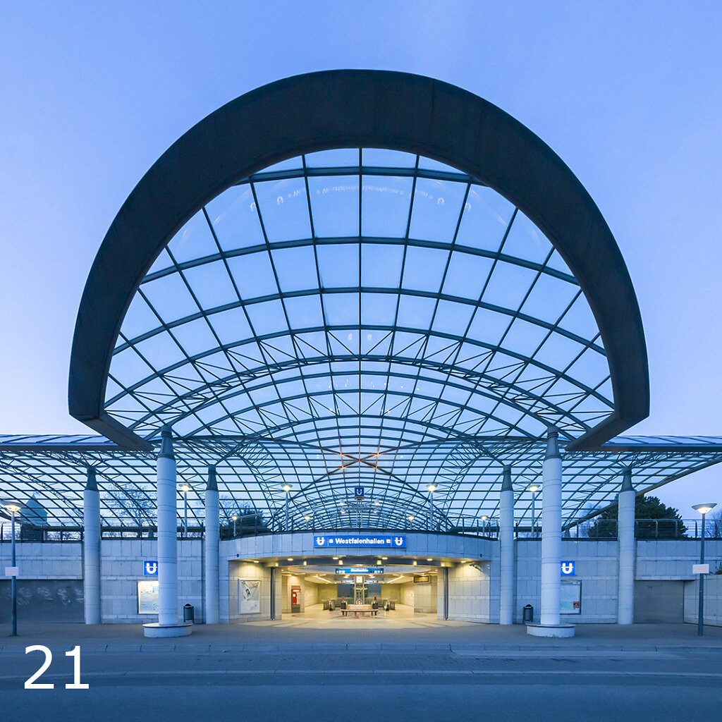 U-Bahnhof Westfalenhalle
