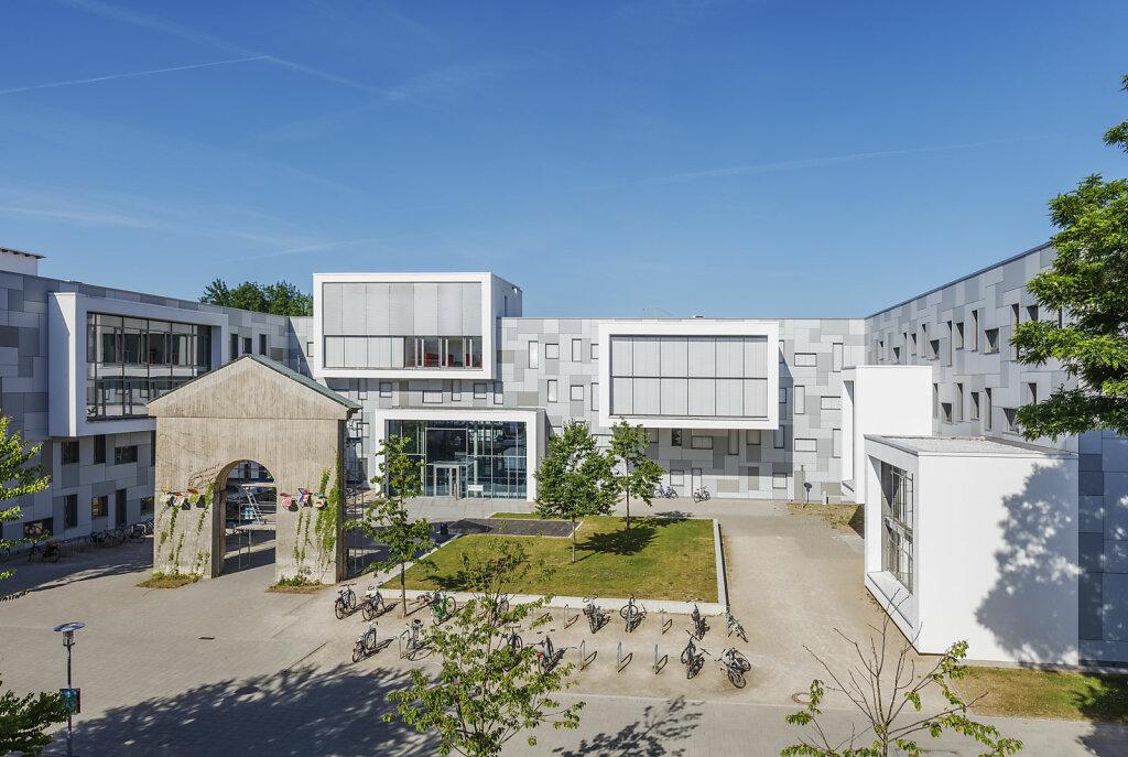 Lern- und Studiengebäude, Reiner Becker Architekten