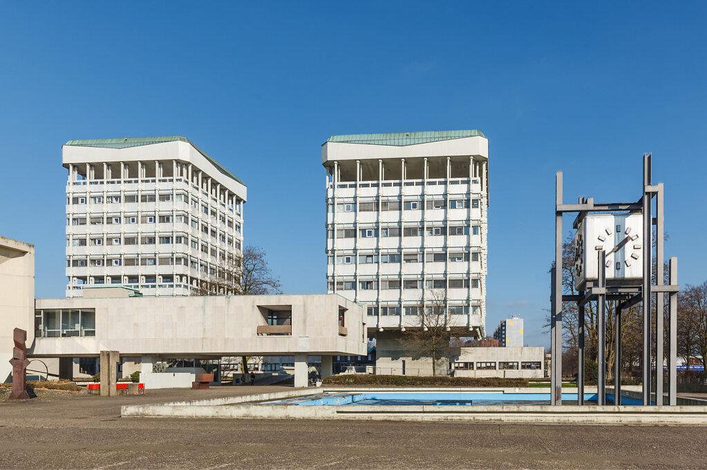 Rathaus Marl, freie Arbeit